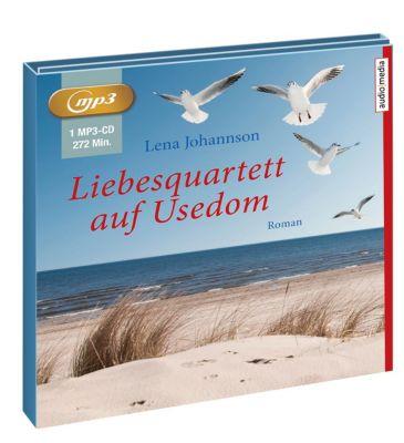 Liebesquartett auf Usedom, 1 MP3-CD, Lena Johannson