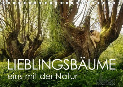 Lieblingsbäume - eins mit der Natur (Tischkalender 2019 DIN A5 quer), Ulrich Allgaier