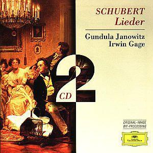 Lieder, Gundula Janowitz, Irwin Gage