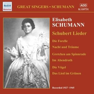 Lieder, Elisabeth Schumann