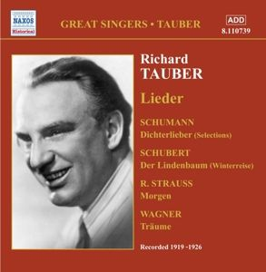 Lieder, Richard Tauber