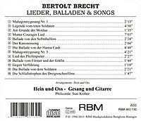 Lieder, Balladen und Songs - Produktdetailbild 1