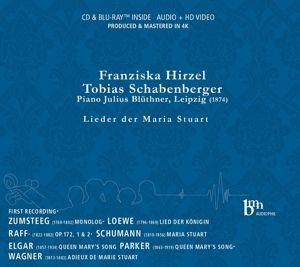 Lieder Der Maria Stuart, Franziska Hirzel, Tobias Schabenberger