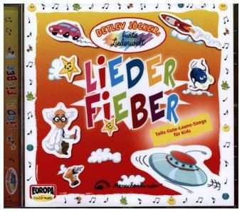 Lieder Fieber, 1 Audio-CD, Detlev Jöcker