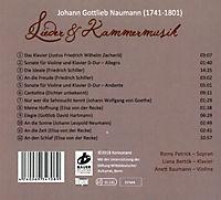 Lieder & Kammermusik-Johann Gottlieb Naumann - Produktdetailbild 1