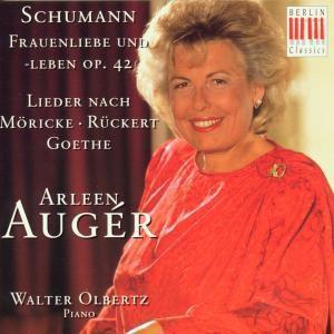 Lieder Nach Möricke/Rückert/Goethe, Arleen Auger, Walter Olbertz
