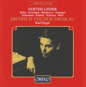 Lieder Nach Texten Von Johann Wolfgang Von Goethe, Fischer-Dieskau, Engel