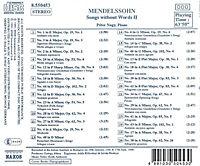 Lieder Ohne Worte Vol.2 - Produktdetailbild 1