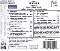 Lieder Und Klaviermusik - Produktdetailbild 1