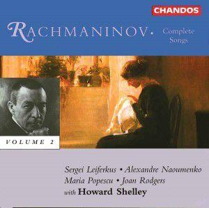 Lieder Vol. 2, Rodgers, Popescu, Leiferkus