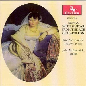 Lieder Zur Gitarre Aus Der Zeit Von Napoleon, Jane Mccormick