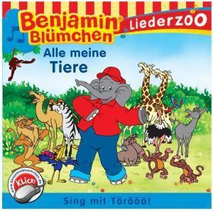 """Liederzoo: Alle Meine Tiere, Benjamin Bluemchen """"liederzoo"""""""