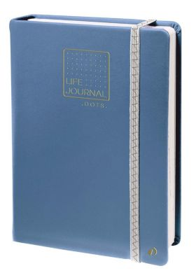 Life Journal 21 Dot Blaugrau