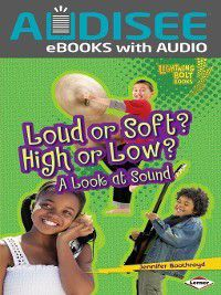 Lightning Bolt Books Exploring Physical Science: Loud or Soft? High or Low?, Jennifer Boothroyd