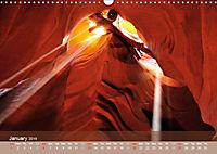 Lights and Colours of the Antelope Canyon (Wall Calendar 2019 DIN A3 Landscape) - Produktdetailbild 1
