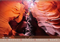 Lights and Colours of the Antelope Canyon (Wall Calendar 2019 DIN A3 Landscape) - Produktdetailbild 2