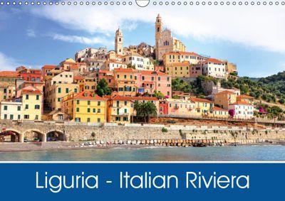 Liguria - Italian Riviera (Wall Calendar 2019 DIN A3 Landscape), Joana Kruse