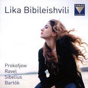 Lika Bibileishvili:Prokofjew/Ravel/Sibelius/Bartók, Lika Bibileishvili
