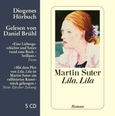 Lila, Lila, 5 Audio-CDs, Martin Suter