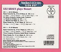 Lili Kraus Spielt Mozart - Produktdetailbild 1