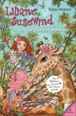 Liliane Susewind ab 8: Liliane Susewind – Giraffen übersieht man nicht, Tanya Stewner