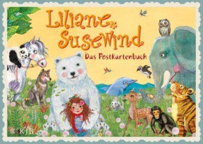 Liliane Susewind - Das Postkartenbuch. 20 farbige Motive, Tanya Stewner