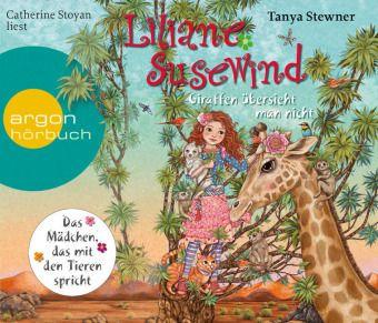 Liliane Susewind - Giraffen übersieht man nicht, 4 Audio-CD, Tanya Stewner