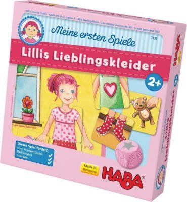 Lillis Lieblingskleider (Kinderspiel)