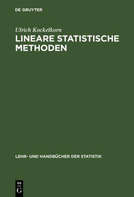 Lineare statistische Methoden, Ulrich Kockelkorn