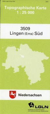 Lingen (Ems) Süd 1 : 25 000. (TK 3509/N)