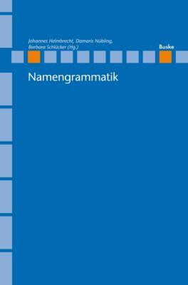 Linguistische Berichte - Sonderhefte: Namengrammatik