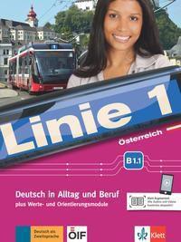 Linie 1, Ausgabe Österreich: Kurs- und Übungsbuch B1.1, m. DVD-ROM, Stefanie Dengler, Margit Doubek, Ludwig Hoffmann, Susan Kaufmann, Ulrike Moritz, Margret Rodi, Lutz Rohrmann
