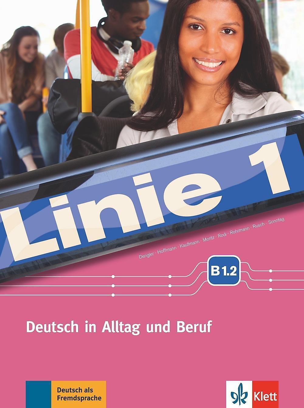 Linie 1 Kurs Und übungsbuch B12 M Dvd Rom Buch Portofrei