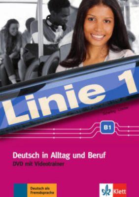 Linie 1: Videotrainer B1, 1 DVD, Theo Scherling, Ralf-Peter Lösche