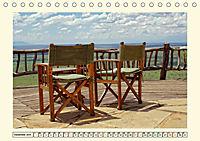 Lions Bluff Lodge - Kenia. Unter den Sternen Afrikas (Tischkalender 2019 DIN A5 quer) - Produktdetailbild 12