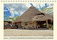 Lions Bluff Lodge - Kenia. Unter den Sternen Afrikas (Tischkalender 2019 DIN A5 quer) - Produktdetailbild 1
