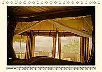 Lions Bluff Lodge - Kenia. Unter den Sternen Afrikas (Tischkalender 2019 DIN A5 quer) - Produktdetailbild 9