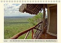 Lions Bluff Lodge - Kenia. Unter den Sternen Afrikas (Tischkalender 2019 DIN A5 quer) - Produktdetailbild 6