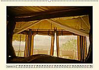 Lions Bluff Lodge - Kenia. Unter den Sternen Afrikas (Wandkalender 2019 DIN A2 quer) - Produktdetailbild 9