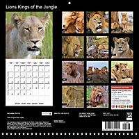 Lions Kings of the Jungle (Wall Calendar 2019 300 × 300 mm Square) - Produktdetailbild 13