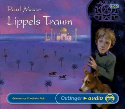 Lippels Traum, 4 Audio-CDs, Paul Maar