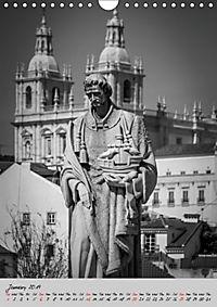 Lisbon in Black and White (Wall Calendar 2019 DIN A4 Portrait) - Produktdetailbild 1