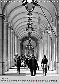 Lisbon in Black and White (Wall Calendar 2019 DIN A4 Portrait) - Produktdetailbild 5