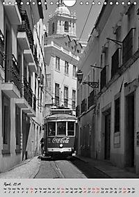 Lisbon in Black and White (Wall Calendar 2019 DIN A4 Portrait) - Produktdetailbild 4