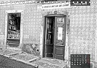 Lissabon - Schwarzweiß (Tischkalender 2019 DIN A5 quer) - Produktdetailbild 2