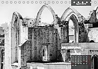 Lissabon - Schwarzweiß (Tischkalender 2019 DIN A5 quer) - Produktdetailbild 4