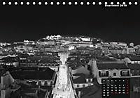 Lissabon - Schwarzweiß (Tischkalender 2019 DIN A5 quer) - Produktdetailbild 12