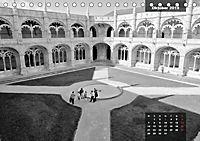 Lissabon - Schwarzweiß (Tischkalender 2019 DIN A5 quer) - Produktdetailbild 10