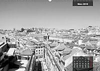 Lissabon - Schwarzweiß (Wandkalender 2019 DIN A2 quer) - Produktdetailbild 2