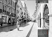 Lissabon - Schwarzweiß (Wandkalender 2019 DIN A2 quer) - Produktdetailbild 3